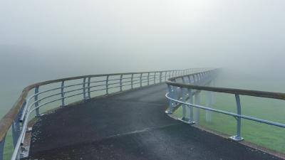 Brug in de mist 03515