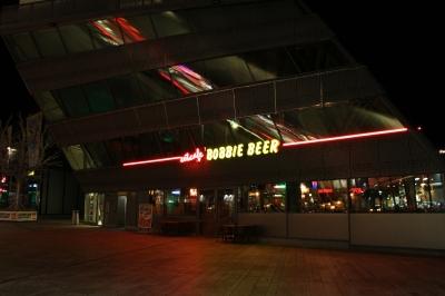 Almere bij nacht